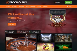 kroon casino op internet